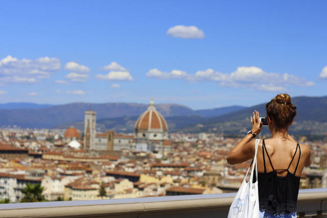 Piazzale Michelangelo, Florence's Most Beautiful Terrace - CiaoFlorence